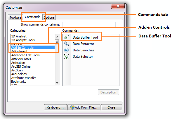 3  Setting up the tool — Data Buffer User Guide 1 0 0